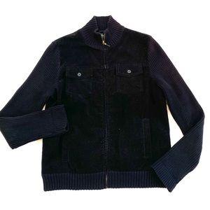 Lauren Ralph Lauren Black Corduroy Jacket